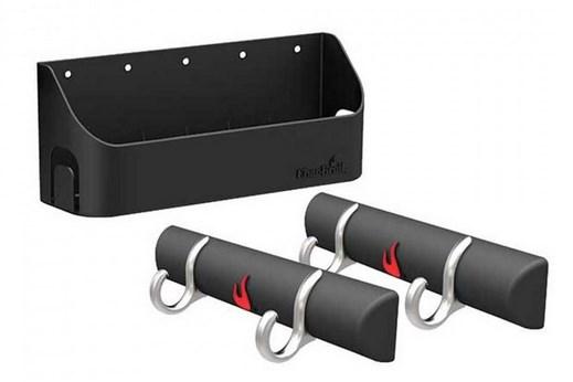 Комплект крючков и корзина для приправ