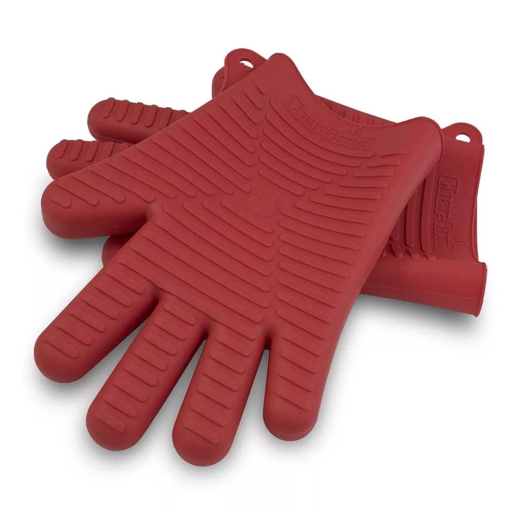 Силиконовые перчатки для гриля