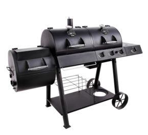 Комбінований гриль-коптильня Oklahoma Joe's Longhorn Combo Charcoal/Gas Smoker & Grill
