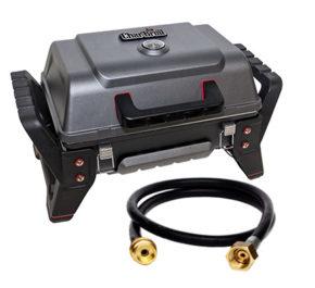 Комплект переносной гриль Char-Broil Grill2Go X200 + Шланг EN